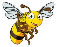 Ejemplo de la abeja de la historieta Imágenes de archivo libres de regalías