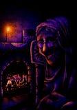 Ejemplo de la abuelita Imagen de archivo libre de regalías