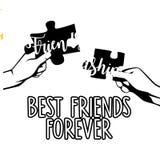 Ejemplo de la amistad Fotos de archivo libres de regalías