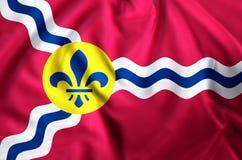 Ejemplo de la bandera de St. Louis Missouri libre illustration