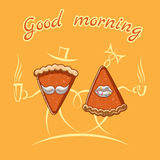Ejemplo de la buena mañana libre illustration