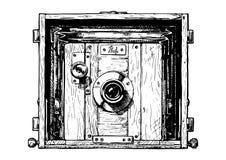Ejemplo de la cámara de la foto Imágenes de archivo libres de regalías