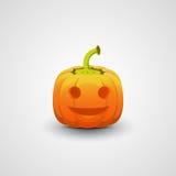 Ejemplo de la calabaza de Halloween Foto de archivo libre de regalías