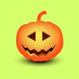 Ejemplo de la calabaza de Halloween Fotos de archivo