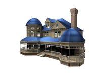 Ejemplo de la casa 3d fotos de archivo libres de regalías