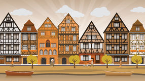 Ejemplo de la ciudad libre illustration
