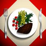 Ejemplo de la comida Fotografía de archivo libre de regalías