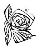 Ejemplo de la flor de Rose Fotos de archivo