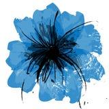 Lona de la flor del ejemplo stock de ilustración