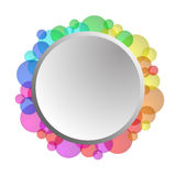 Ejemplo de la forma del círculo Fotos de archivo libres de regalías