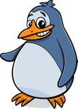 Ejemplo de la historieta del pájaro del pingüino Imagen de archivo