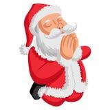 Ejemplo de la historieta de Santa Claus linda libre illustration