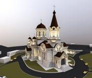 Ejemplo de la iglesia Imágenes de archivo libres de regalías
