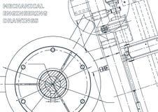 Ejemplo de la ingeniería del vector Cubierta, aviador, bandera, fondo ilustración del vector