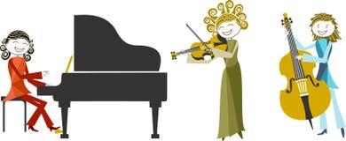 Ejemplo de la música Imagenes de archivo