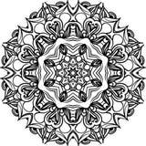 Ejemplo de la mandala del vector imagen de archivo libre de regalías