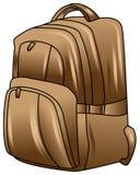 Ejemplo de la mochila libre illustration