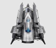 Ejemplo de la nave espacial Fotografía de archivo libre de regalías
