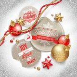 Ejemplo de la Navidad Imagen de archivo libre de regalías