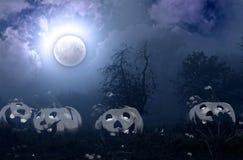 Ejemplo de la noche de Halloween fotografía de archivo