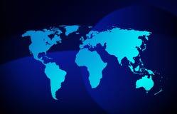 Ejemplo de la optimización del globo de la tierra del mundo libre illustration