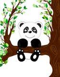 Ejemplo de la panda stock de ilustración