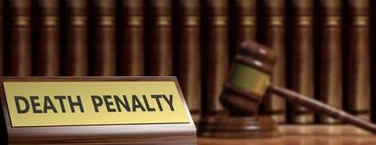 Ejemplo de la pena de muerte stock de ilustración