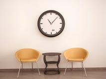 Ejemplo de la sala de espera Imagen de archivo