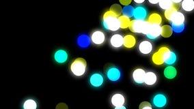 Ejemplo de la tecnología abstracta almacen de video