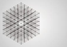 Ejemplo de la tecnología abstracta Imagen de archivo