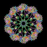 Ejemplo de la textura del vector Foto de archivo libre de regalías
