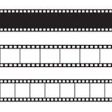 Ejemplo de la tira de la película del vector Foto de archivo
