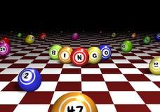 Perspectiva del bingo stock de ilustración