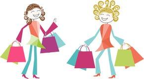 Ejemplo de las compras Imagenes de archivo