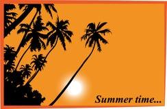Postal del verano Foto de archivo