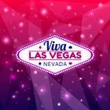 Ejemplo de Las Vegas stock de ilustración