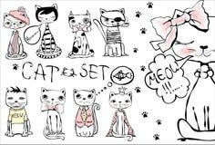 Ejemplo de los gatos libre illustration