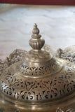 Ejemplo de los modelos del arte del otomano en los metales Imagen de archivo libre de regalías
