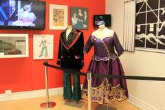 Ejemplo de los trajes del baile del cascanueces mucho amado, museo de la danza, Saratoga Nueva York, 2016 imágenes de archivo libres de regalías