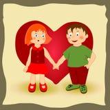 Ejemplo de niños Foto de archivo libre de regalías