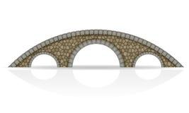 Ejemplo de piedra del vector de la acción del puente Fotografía de archivo libre de regalías