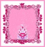 Ejemplo de princesa mágica Castle del cuento de hadas Imagenes de archivo