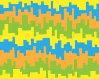 Ejemplo de rayas coloreadas Fotos de archivo libres de regalías