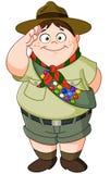 Boy scout Fotografía de archivo