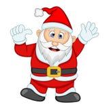 Ejemplo de Santa Claus For Your Design Vector Imágenes de archivo libres de regalías