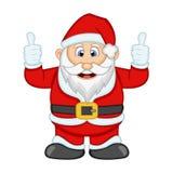 Ejemplo de Santa Claus For Your Design Vector Fotos de archivo libres de regalías