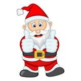 Ejemplo de Santa Claus For Your Design Vector Foto de archivo
