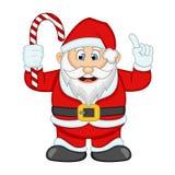 Ejemplo de Santa Claus For Your Design Vector Imagen de archivo