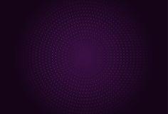 Ejemplo de semitono del vector del círculo abstracto Fotografía de archivo libre de regalías