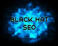 Ejemplo de Seo Website Optimization del sombrero negro 2.o libre illustration